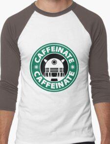 CAFFEINATE!!! Men's Baseball ¾ T-Shirt