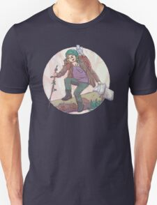 Portrait of a Traveler Unisex T-Shirt