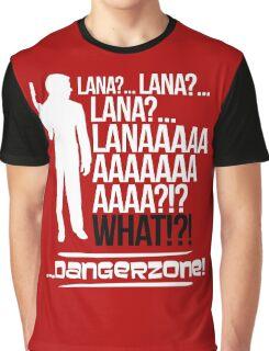 LANAAAAAAA!?!... Danger Zone! (Alternative) Graphic T-Shirt