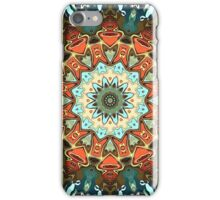 Concentric Abstract Symmetry iPhone Case/Skin