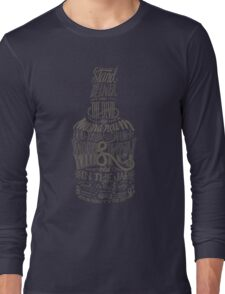 whiskey in the jar Long Sleeve T-Shirt