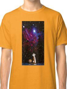 calvin and hobbes nebula  Classic T-Shirt