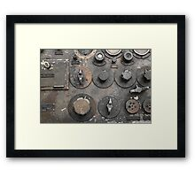 Military transceiver Framed Print