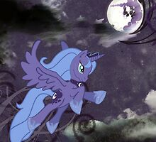 Lonely Luna by satur9