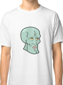 HANDSOME SQUIDWARD Classic T-Shirt