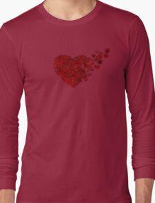 rose heart 3 Long Sleeve T-Shirt