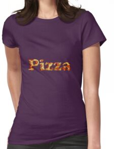PIZZA!! Womens Fitted T-Shirt