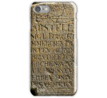 broken tombstone  iPhone Case/Skin