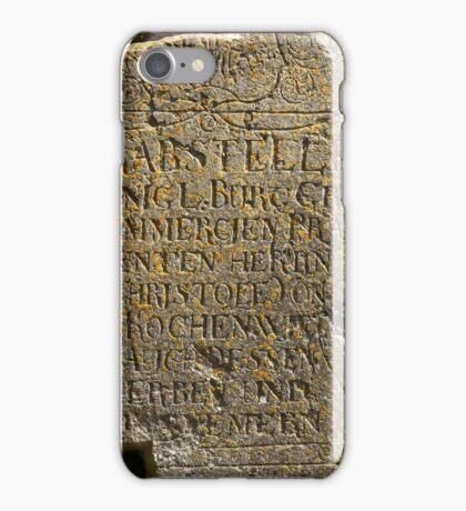 broken tombstone  iPhone Case/Skin
