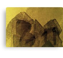 modern abstract painting art design Canvas Print