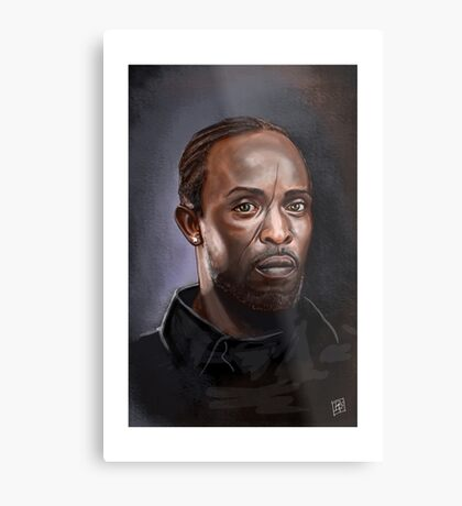 Omar Little - The Wire -  Famous People Metal Print