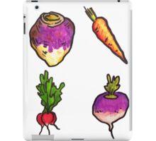 Vegetable Pattern iPad Case/Skin