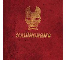 #millionaire Photographic Print