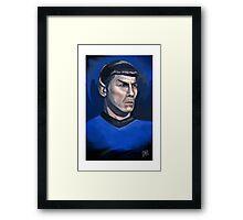 Spock / Leonard Nimoy - Star Trek - Famous People Framed Print
