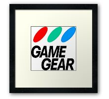 Sega Game Gear Logo Framed Print