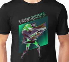 FRAGMENTAL GREEN CHARACTER BY RUFFIAN GAMES Unisex T-Shirt