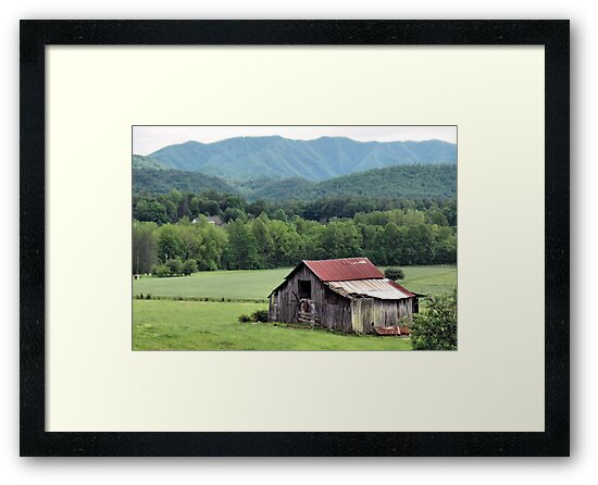 """""""Down in the Valley """"... prints and products by © Bob Hall"""