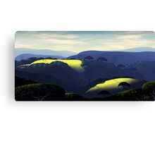 Alum Rock Hills Canvas Print