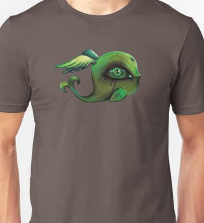 green winged whale II Unisex T-Shirt