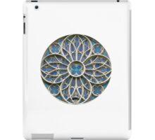 Rosace Gothic vrsac church  iPad Case/Skin