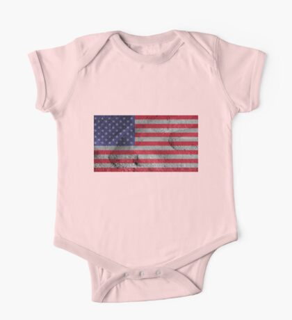 American flag One Piece - Short Sleeve