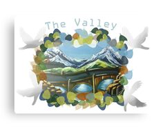 The Valley day Canvas Print