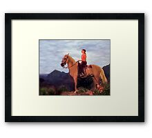 Peaceful Prairie Framed Print