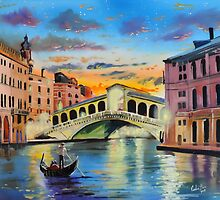 The Venice reflections by Gordon Bruce by gordonbruce