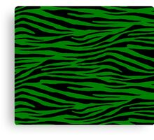0013 Ao, Green (HTML/CSS Color or Office Tiger Canvas Print