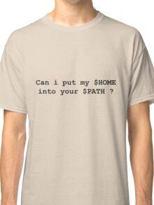 linux fun Classic T-Shirt