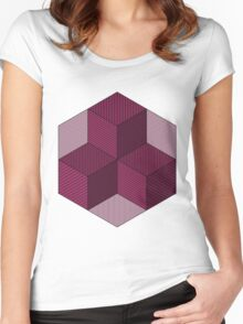 blocks Women's Fitted Scoop T-Shirt