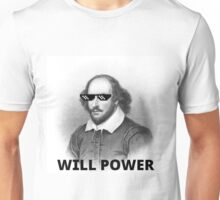 Willy Shakes Unisex T-Shirt