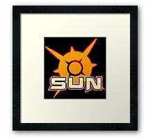 Pokemon Sun Framed Print