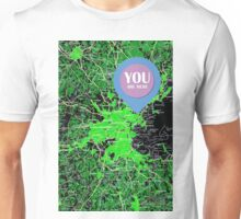 You are here, Boston old map Unisex T-Shirt