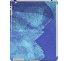 Cool, unique modern abstract blue ocean painting art design iPad Case/Skin