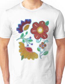 Flowers, flowers acrylic painting Unisex T-Shirt