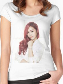 Red Hair Jessica Women's Fitted Scoop T-Shirt