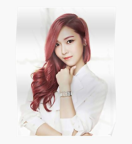 Red Hair Jessica Poster