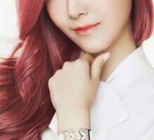 Red Hair Jessica Sticker