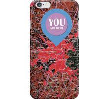 Boston  Massachusetts 1948, YOU ARE HERE iPhone Case/Skin