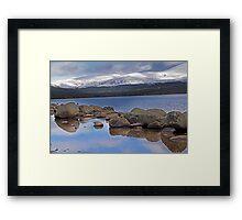Loch in Higlands of Scotland Framed Print