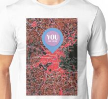 Boston  Massachusetts 1948, YOU ARE HERE Unisex T-Shirt