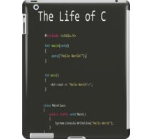 The Life of C iPad Case/Skin