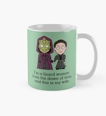 Madame Vastra and Jenny Mug