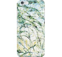 New life modern nature pattern bloom painting art design iPhone Case/Skin