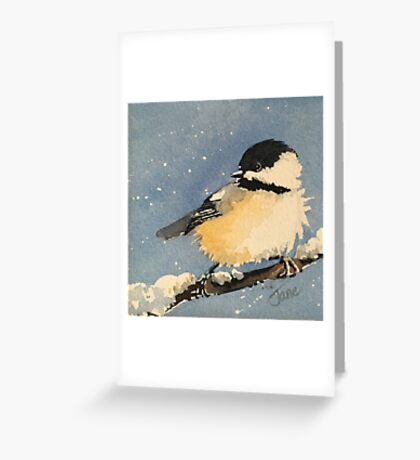 Solo Chick Greeting Card