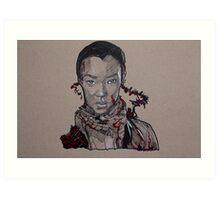 Sasha - TWD Art Print