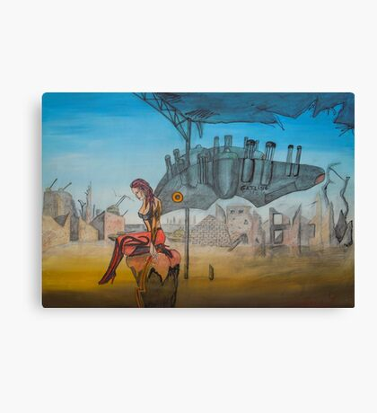 Machine Gun Fairy Canvas Print