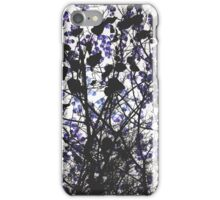 Warm winter modern abstract painting art design iPhone Case/Skin