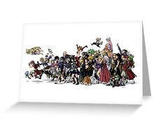 Fairy Tail Group Greeting Card